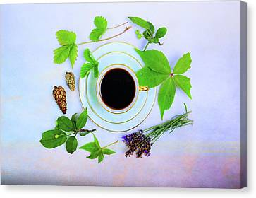 Coffee Delight Canvas Print
