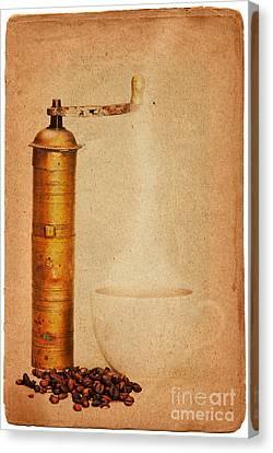 Coffee Canvas Print by Michal Boubin