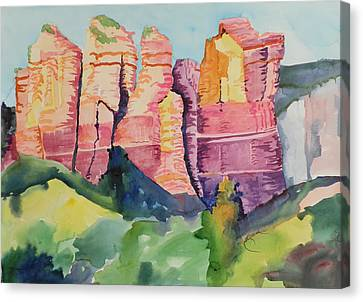 Coffee Pot Mountain Canvas Print