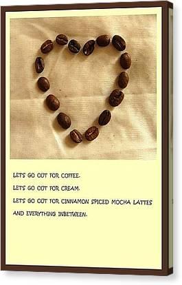 Coffee Shop Hopping Canvas Print