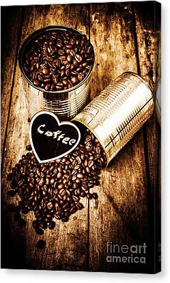 Coffee Shop Love Canvas Print by Jorgo Photography - Wall Art Gallery