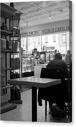 Ridgewood Canvas Print - Coffee Shop by Randy