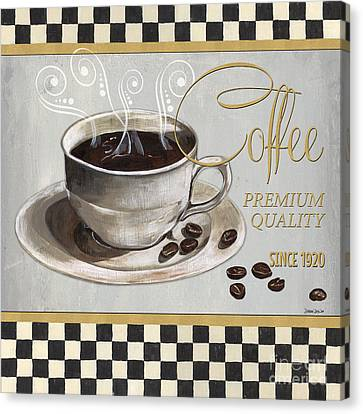 Coffee Shoppe 1 Canvas Print by Debbie DeWitt