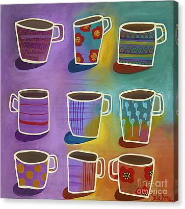 Coffee Time Canvas Print by Carla Bank