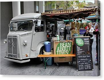 Coffee Truck Canvas Print by Christin Brodie