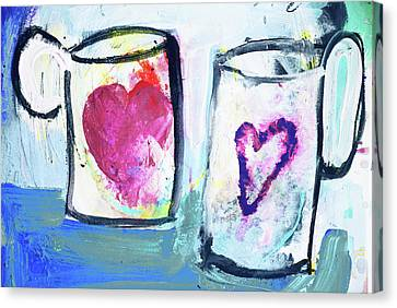 Coffee With Love Canvas Print