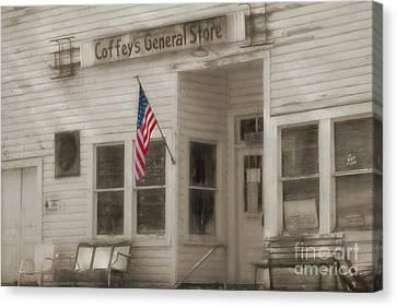 Coffey's General Store Canvas Print by Benanne Stiens