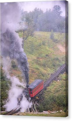 Cog Railway Car Canvas Print