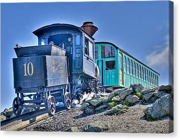 Cog Train Mount Washington Canvas Print