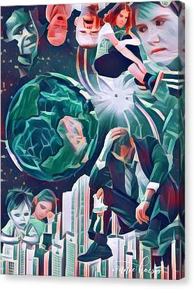 Cognitive Dissonance Canvas Print