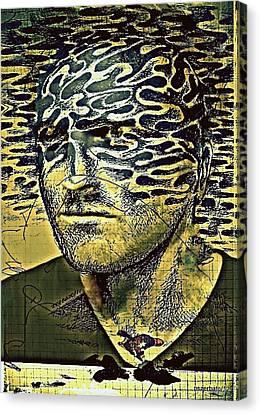 Cognitive Distortions Canvas Print by Paulo Zerbato