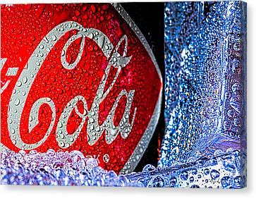 Coke Cola Canvas Print by Bob Orsillo