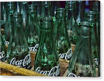Coke Its The Real Thing Canvas Print