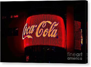Coke - Las Vegas Canvas Print