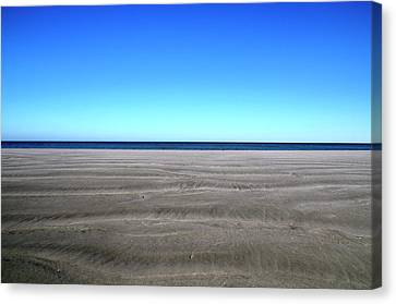 Cold Beach Day Canvas Print