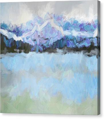 Cold Front Canvas Print by Tonya Doughty