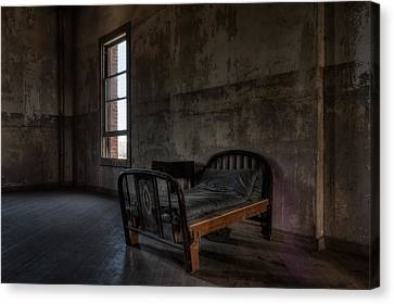 Cold Home  Canvas Print by Michael Dugger