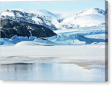 Cold Lake Canvas Print by Svetlana Sewell