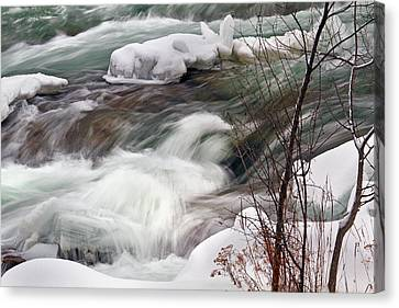 Cold Rush Canvas Print by Timothy McIntyre