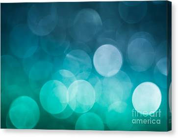 Canvas Print featuring the photograph Cold Shower by Jan Bickerton