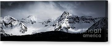 Canvas Print featuring the photograph Cold Spring - San Juan Mountains, Colorado by The Forests Edge Photography - Diane Sandoval