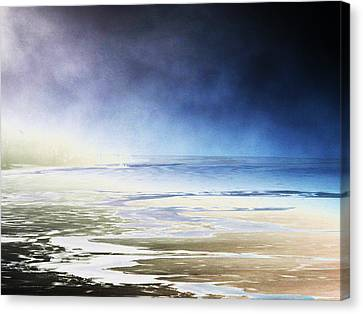 Canvas Print featuring the photograph Cold by Steven Huszar