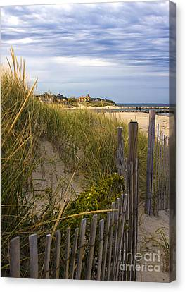 Cold Storage Beach Canvas Print by Deb Koskovich