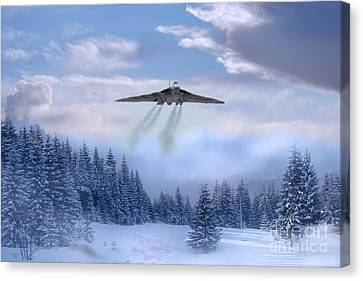 Cold War Bomber Canvas Print by J Biggadike