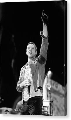 Coldplay 16 Canvas Print by Rafa Rivas