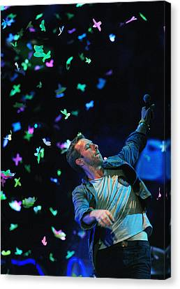 Coldplay1 Canvas Print by Rafa Rivas