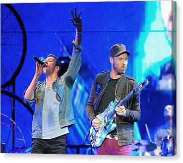 Coldplay6 Canvas Print by Rafa Rivas