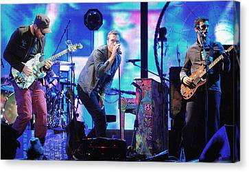 Coldplay7 Canvas Print by Rafa Rivas