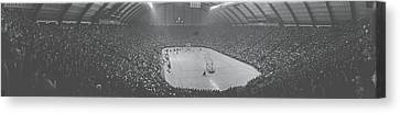 Cole Field House University Of Maryland Canvas Print by Panoramic Images