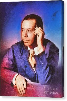 Cole Porter, Music Legend Canvas Print