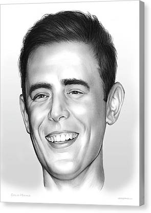 Colin Hanks Canvas Print