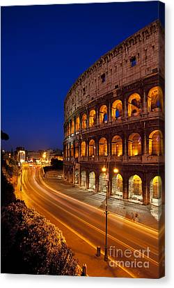 Coliseum At Twilight Canvas Print
