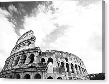 Coliseum Of Rome Canvas Print