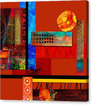 Collage Abstract 2 Canvas Print