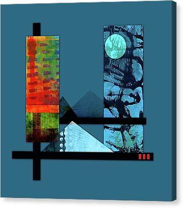 Collage Landscape 1 Canvas Print