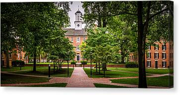 Ohio University College Green Canvas Print by Robert Powell