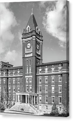 College Of The Holy Cross O' Kane Hall Clock Tower Canvas Print by University Icons