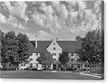 College Of Wooster Douglass Hall Canvas Print by University Icons