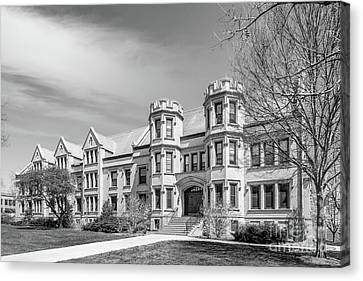 College Of Wooster Holden Hall Canvas Print