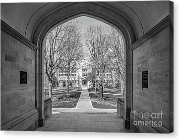 College Of Wooster Kauke Hall Arch  Canvas Print