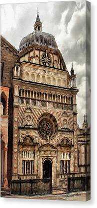 Italian Canvas Print - Colleoni Chapel by Jeffrey Kolker