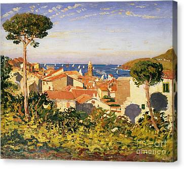Collioure Canvas Print by James Dickson Innes