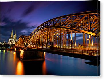 Cologne Cathedral Canvas Print by Andre Distel Photography