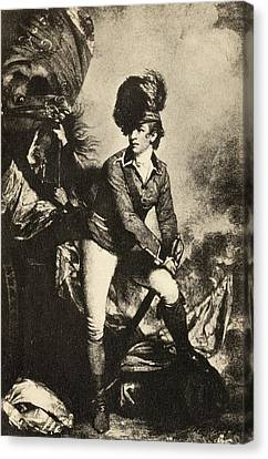 Colonel Sir Banastre Tarleton 1754 To Canvas Print