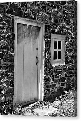 Colonial Entry Canvas Print by Kathi Isserman