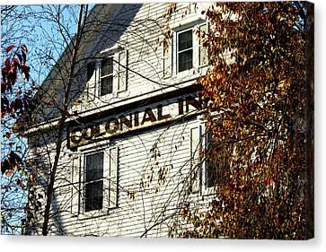 Colonial Inn Canvas Print